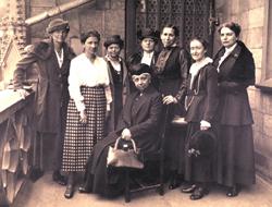 Vorstand Bund deutscher Frauenvereine, Köln 1921