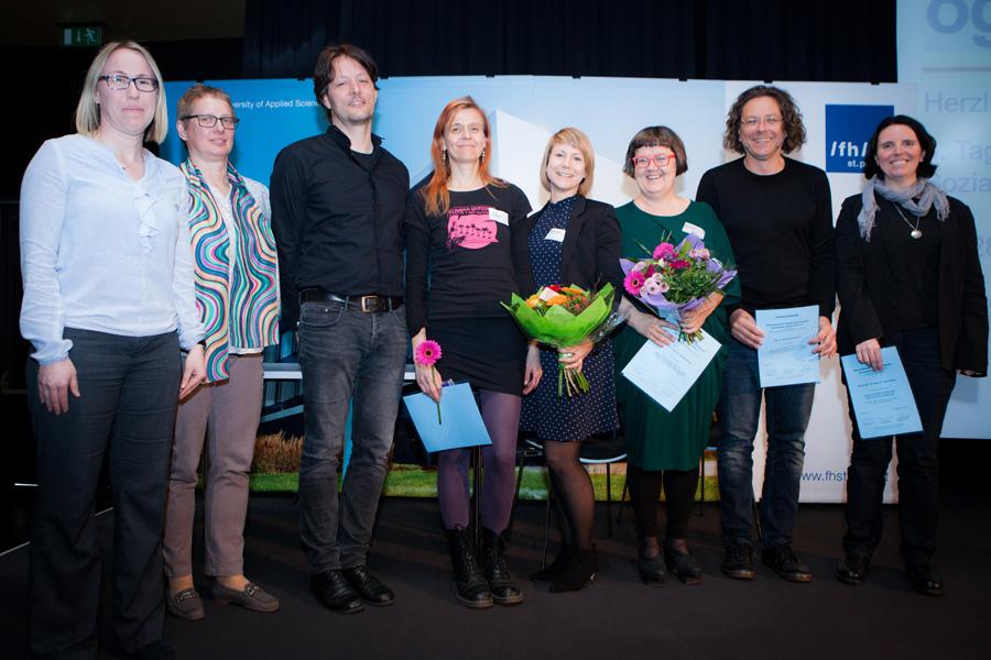 PreisträgerInnen des Wissenschaftspreises für Soziale Arbeit 2016/2017